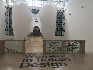 Entrance to W.Women in Italian Design