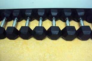 Dumbells (12.5-30 pound)