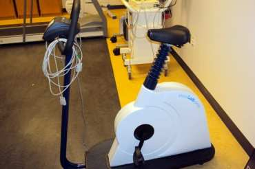 Lode Corival Electronically Braked Bike Ergometer with TrueOne and Heart Rate interface software