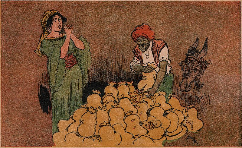 Image result for ali baba and the forty thieves