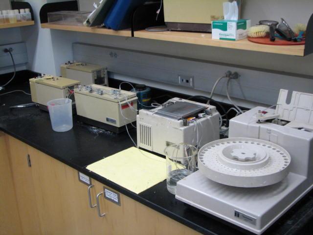 Autoanalyzer Environmental Analysis Lab