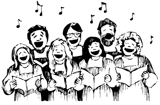 Visiting Youth Choir at the Maquoketa United Methodist