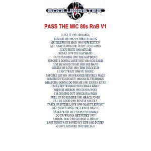 pass the mic playlist