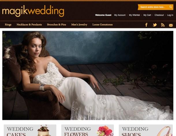 wedding tema magento