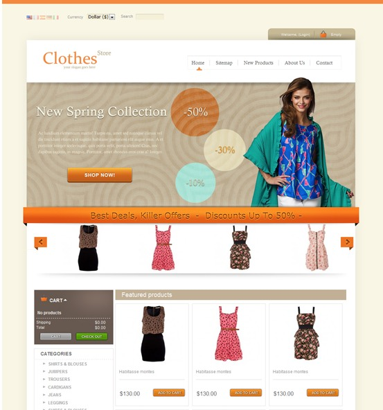 clothes-prestashop