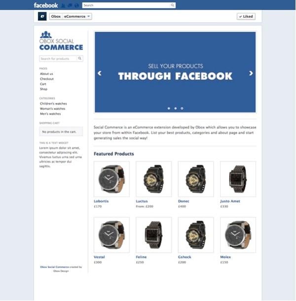 obox social commerce