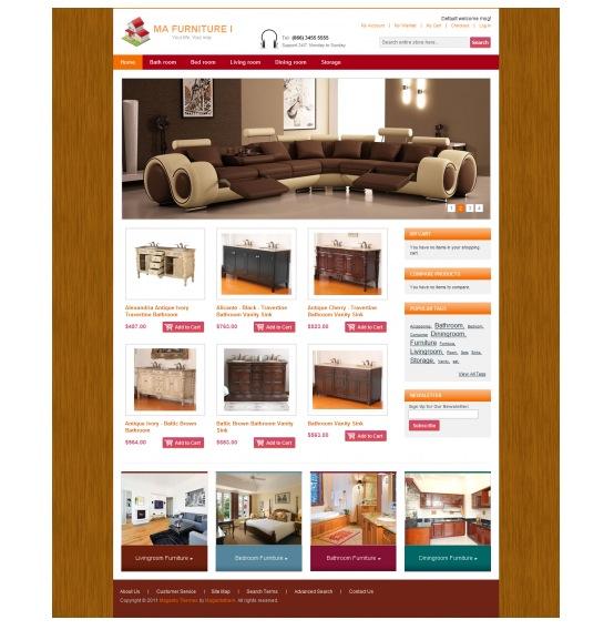 furniture magento