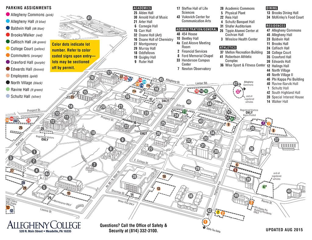 Parking Lot Closures Due to Hoodie Allen Concert « My