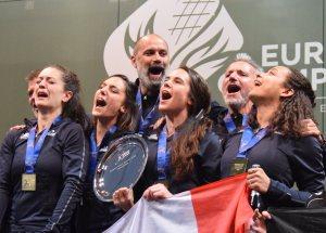 Europe par Equipes Virtuel: Les Filles en Or, les Garçons en Argent!!!