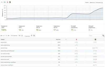 Продвижение сайта интернет-магазина Plusminus56.ru