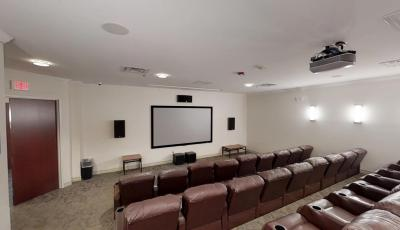 Collegiate Village Movie Theater