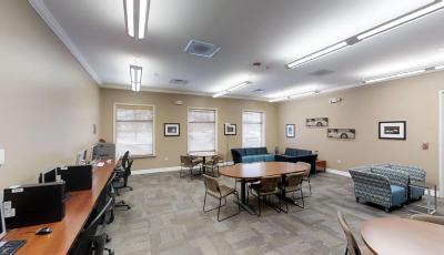 Collegiate Village Study Lounge 3D Model