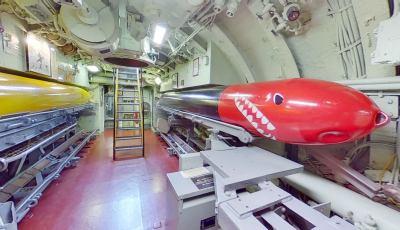 USS Croaker 3D Model