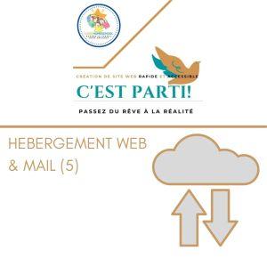 Hebergement web&mail5