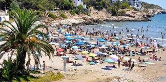 Playa Aiguadolc Sitges