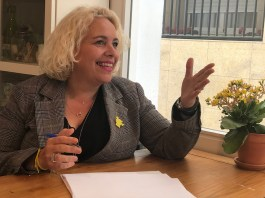 monica gallardo junts per sitges 2019