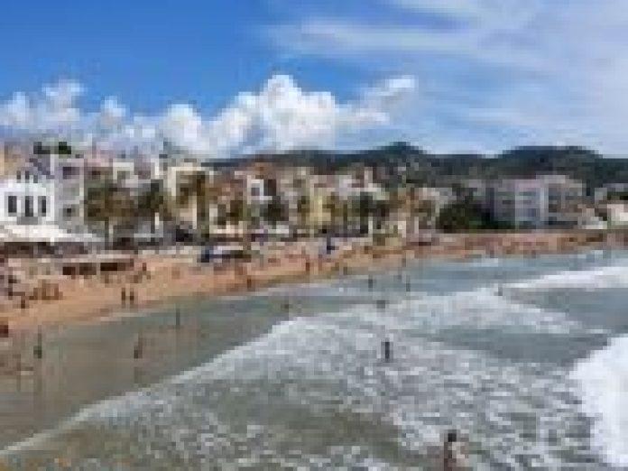 Susto en el parking frente al hotel Estela de Sitges
