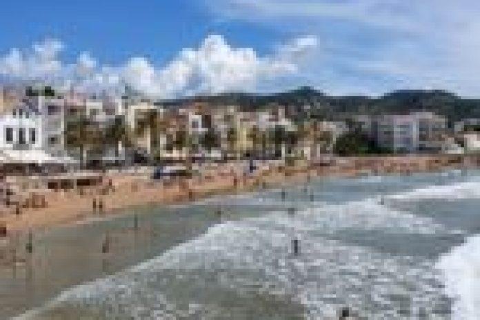 Laura Borras visita sitges 2019