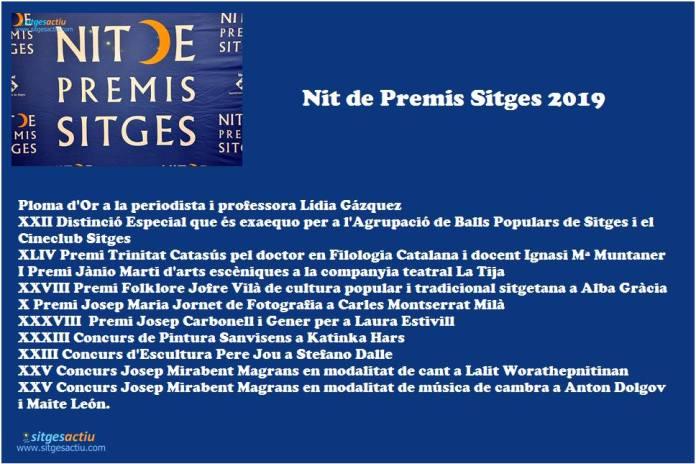 XXII Nit Premis Sitges