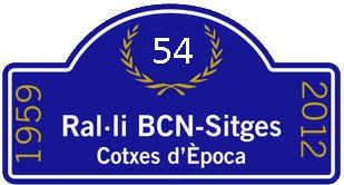 54 Rallye Internacional de Coches de Época Barcelona-Sitges