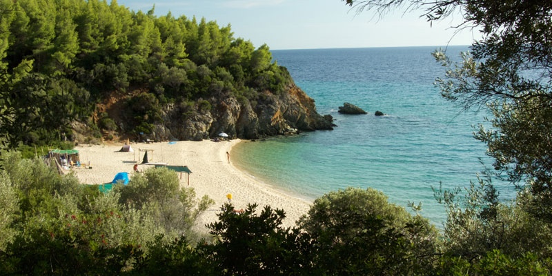 The summer is a great time to enjoy the outdoors, get a tan and go on vacation but for some people, the summer also means having to reveal a little more of their bodies than they're comfortable with. Paradise Beach Sithonia Greece