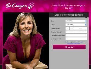Cougar toyboy sito di incontri