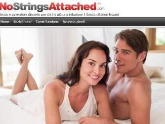 Home page di NoStringAttached