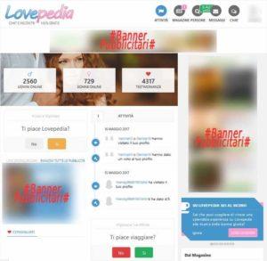 Banner su Lovepedia