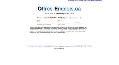 Offres-emplois