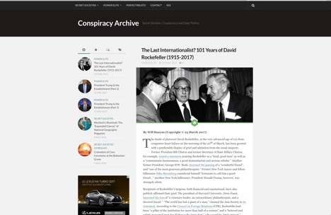 Conspiracy Archive