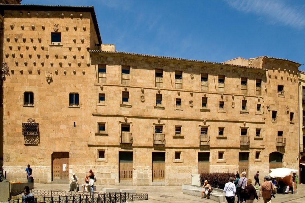 Casa de las Conchas de Salamanca  Sitiosturisticoscom