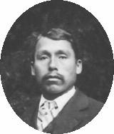 Kiksadi man Rudolph Walton Kawootk' in about 1901. Photo Tongass Historical Society.