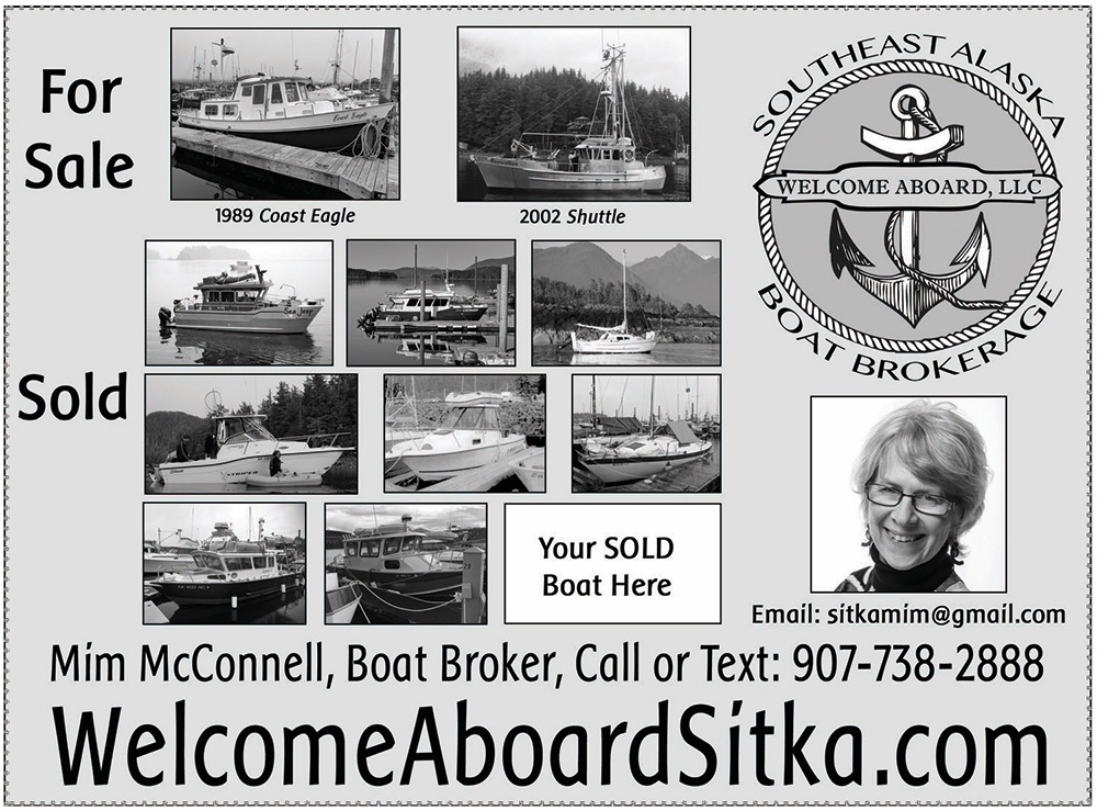 Welcome Aboard half page ad for Harbor Guide.psd