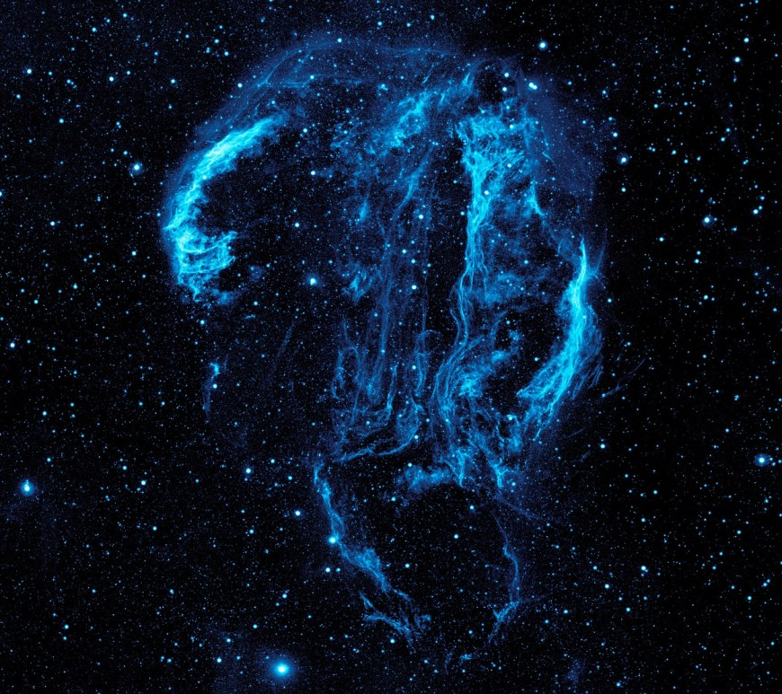 Cygnus Loop Nebula. Image courtesy of Skeeze (Pixbay).