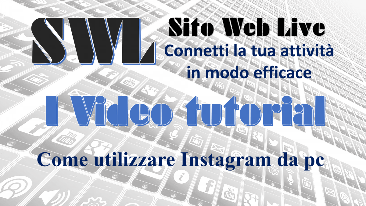 Come utilizzare Instagram da PC – video tutorial