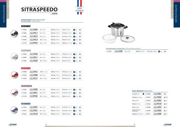 speedo catalog page