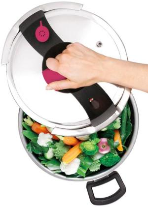 Pressure Cooker with Hand