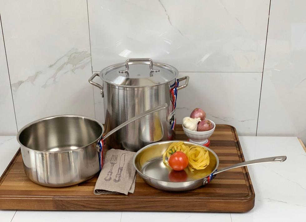 Four piece Stainless Steel Cookware Set Horeca R