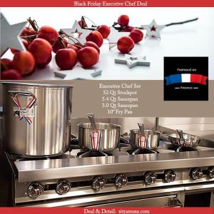 Commercial Stainless Steel on Steel Stove