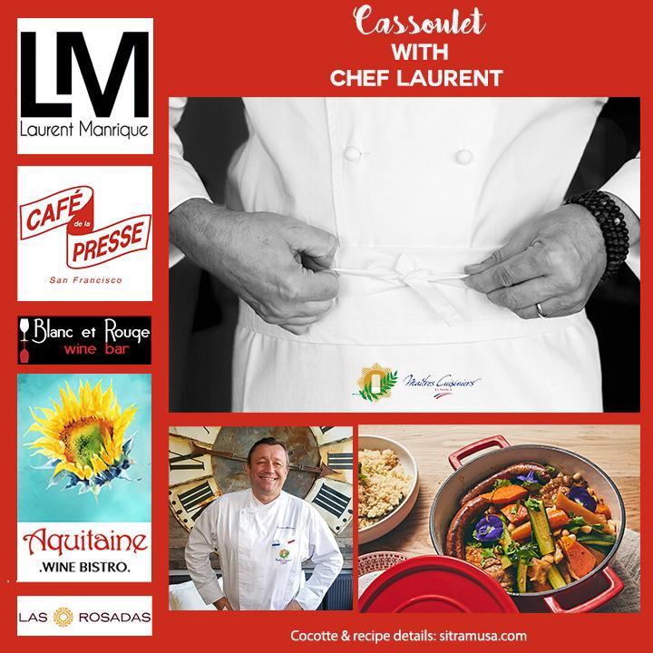 Laurent Manrique cassolet recipe