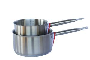 Stainless Steel Saucepan_set of two_Pro1X