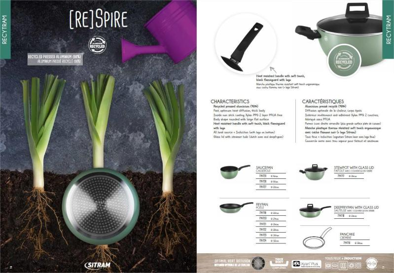 Recycled Aluminum Cookware