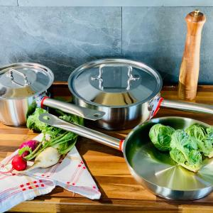 Stainless Steel 5 piece Set