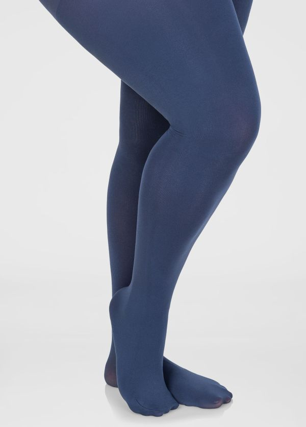 Opaque Footed Tights