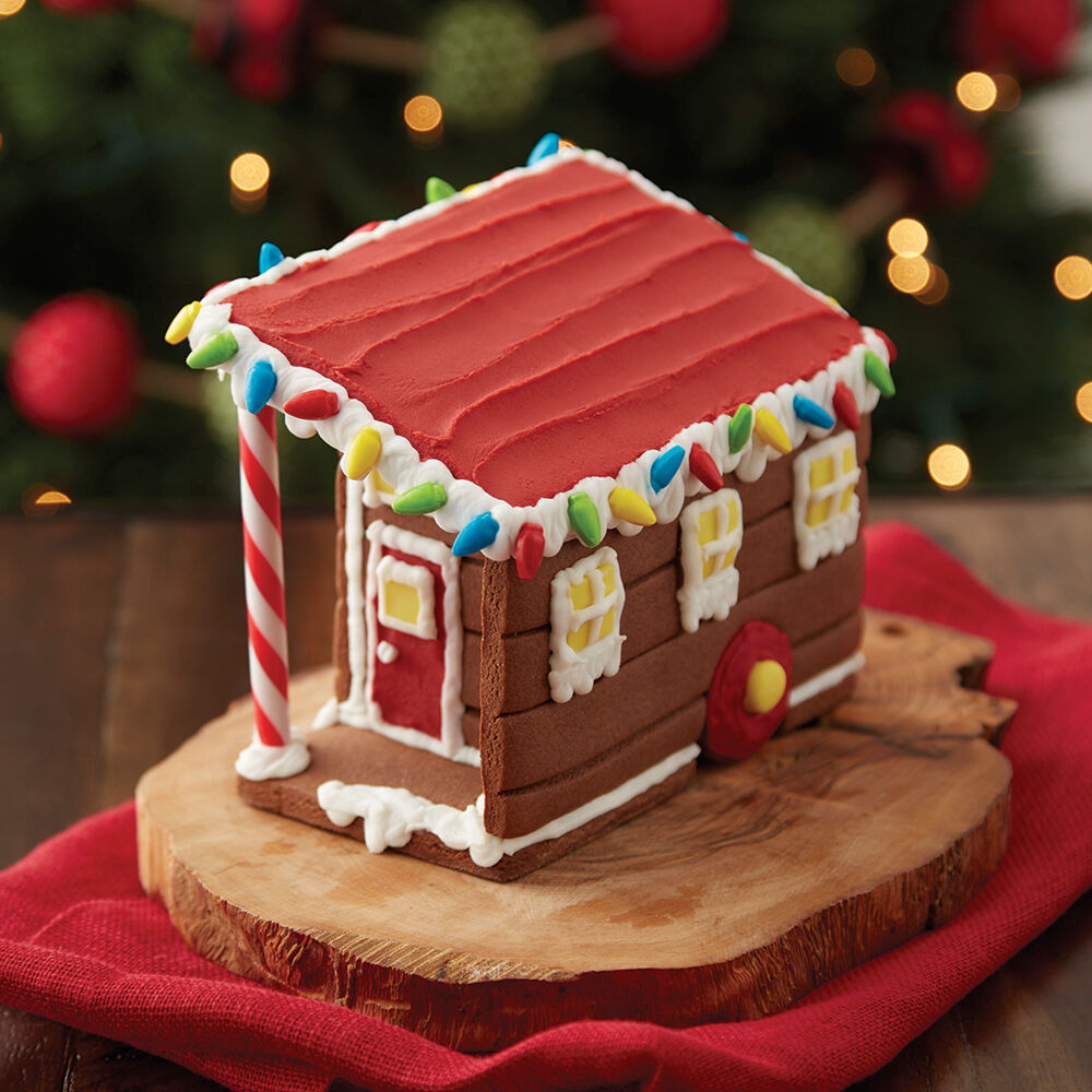 Tiny Gingerbread House 1 Wilton