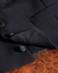 Navy slim fit shawl collar tuxedo suit | Charles Tyrwhitt
