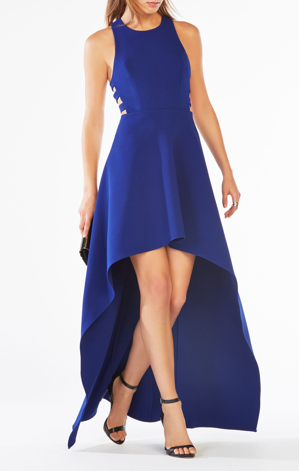 High Low Cutout Dress