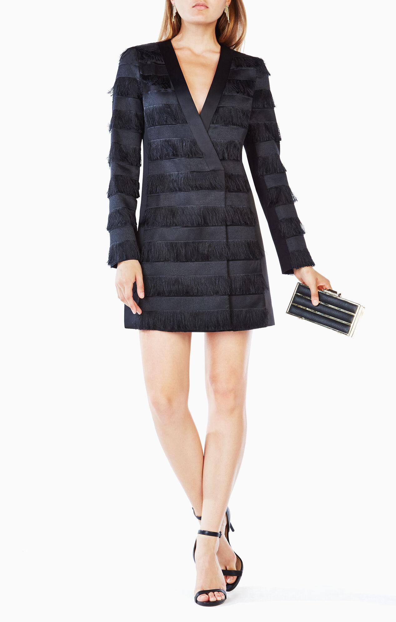Anika Fringe Jacket Dress