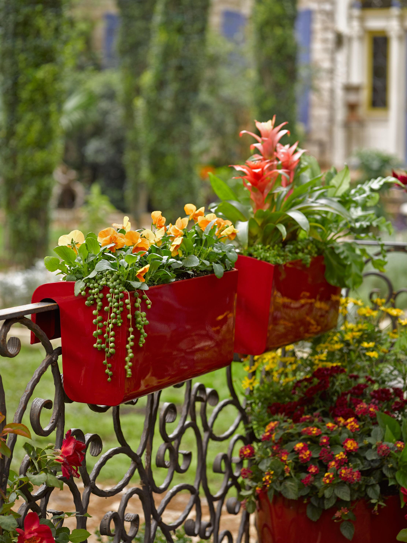 Balcony Garden Viva -watering Railing Planter