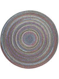 Round Braided Rugs: Round Country Jewel Braided Rug, 6'